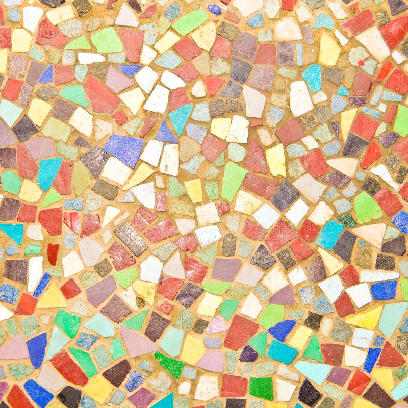 Mosaike verzieren beim mediterranen Landhausstil Boden oder Wände