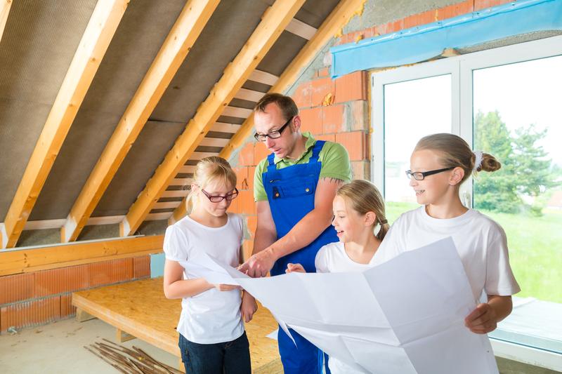 Auch bei gründlicher Planung bleiben finanzielle  Risiken beim Hausbau...