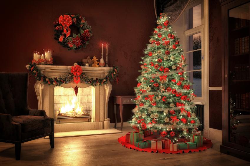 Fesselnd Festlicher Weihnachtsbaum