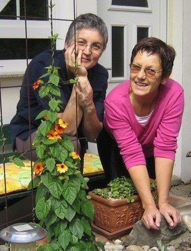Astrid und Anne