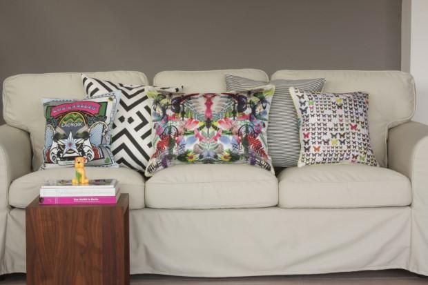 Kuschlige Couch