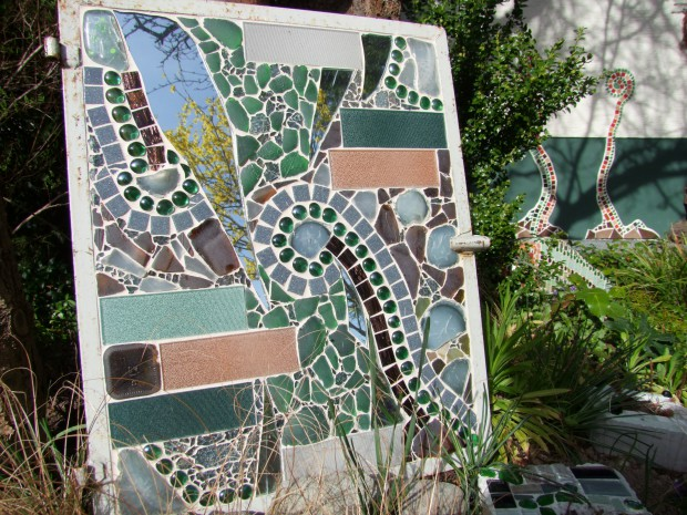 Mosaike basteln Natur