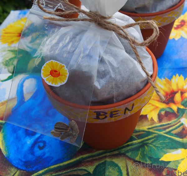Blumenbeet zum Verschenken