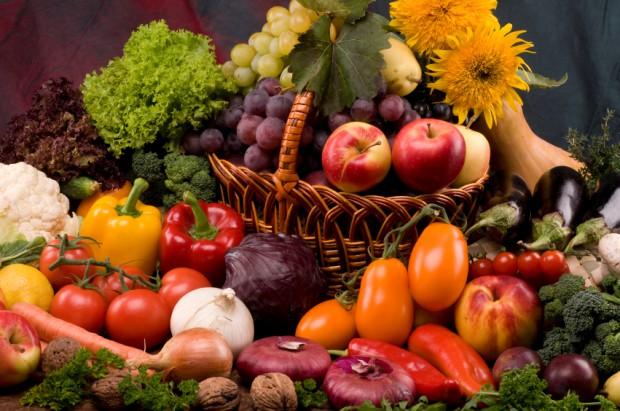 Obst und Gemüse im Herbst