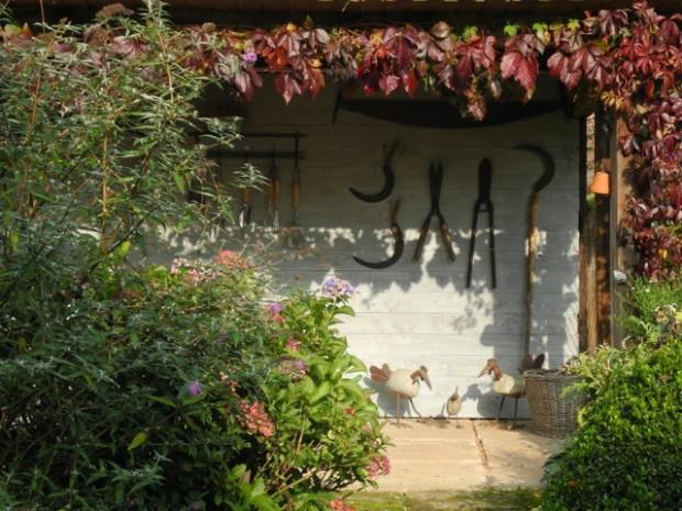 So macht die Gartenarbeit Spaß – alle Werkzeuge schnell griffbereit.