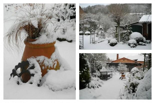 """""""Wenn der erste Schnee fällt, kehrt Ruhe ein im Garten. Aber schon im Februar halte ich Ausschau nach den ersten Anzeichen des Frühlings."""""""