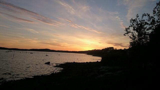 Sonnenuntergang Schweden