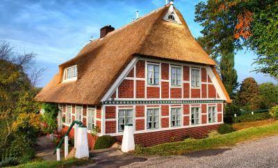 Bild eines Fachwerkhauses