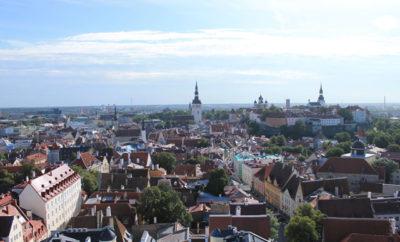 Estland - Tallinn von Oben