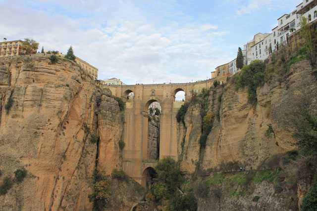 Ronda im Winter Puente Nuevo