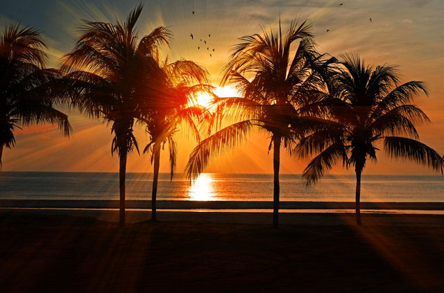 Teneriffa Sonnenuntergang