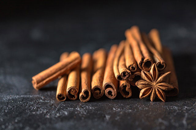 Schokolade mit Gewürzen