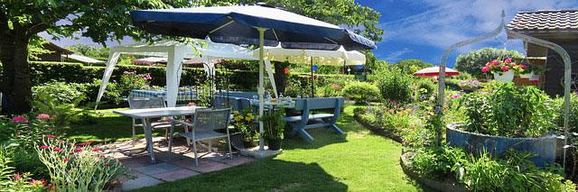 Ordnung im Garten schaffen