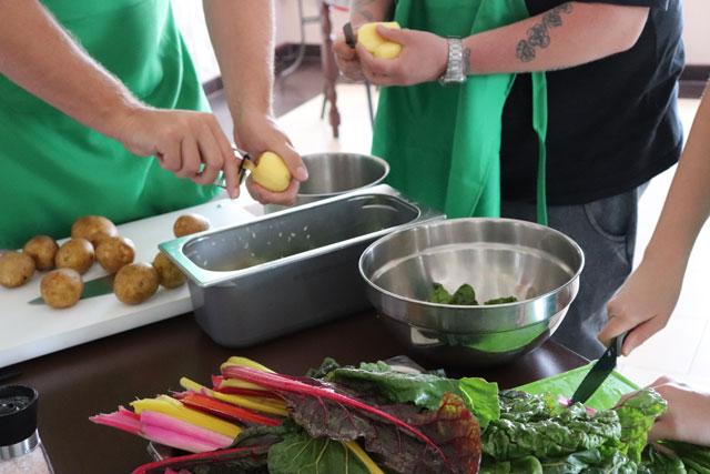Zubereitung Gericht