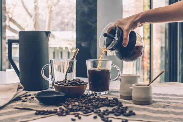 Kaffee aus der French Press