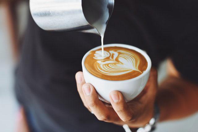Latte Macchiato Schaum