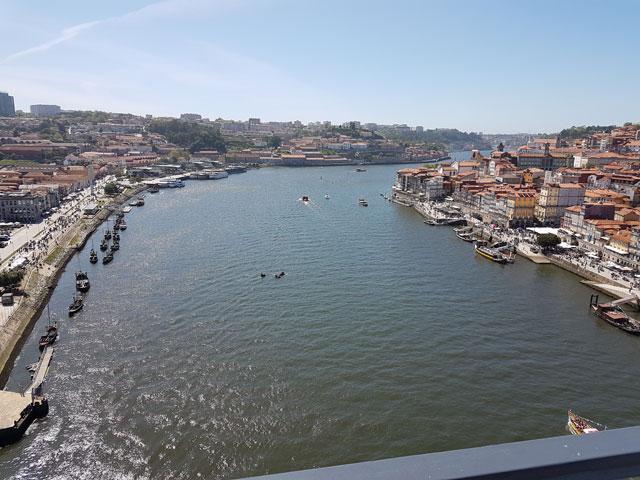 Ausblick Ponte Luis I