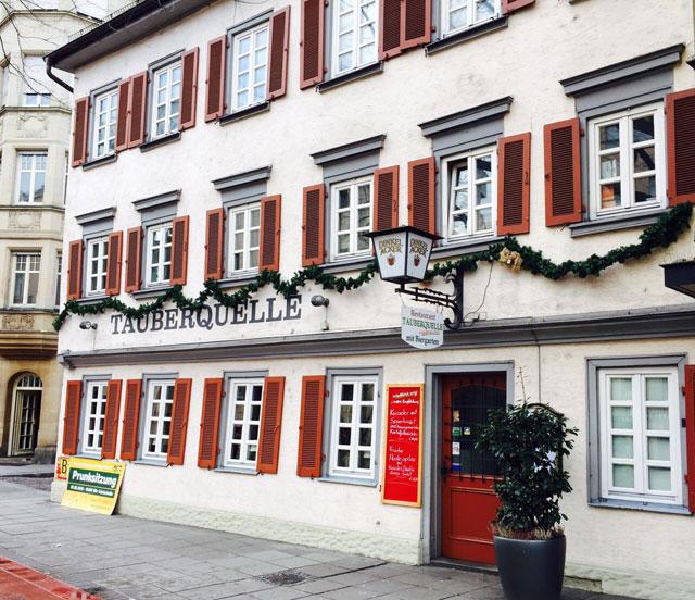 Tauberquelle Stuttgart