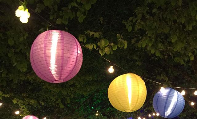 5 Ideen stimmungsvolle Gartenbeleuchtung