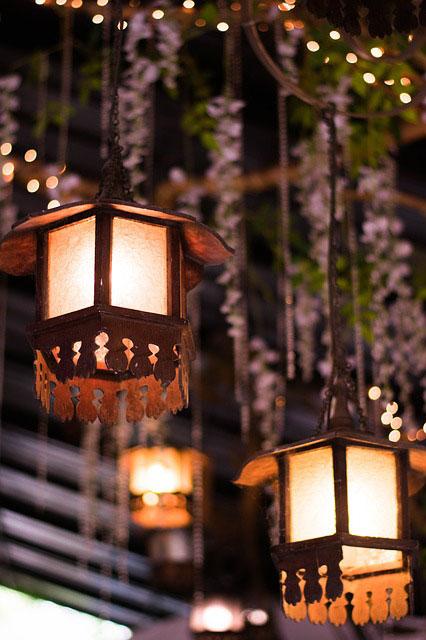 Klassisch elegante Gartenbeleuchtung