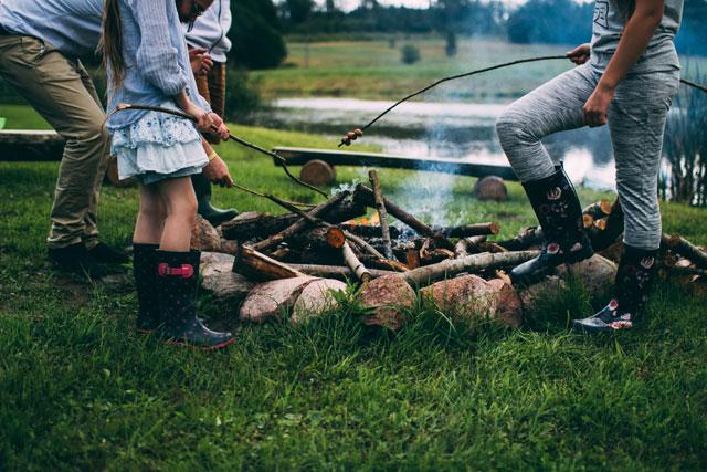 Camping mit Kindern Familienurlaub