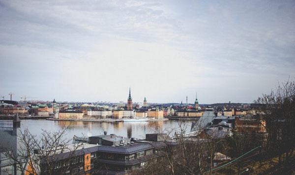 Skandinavische Städte Stockholm