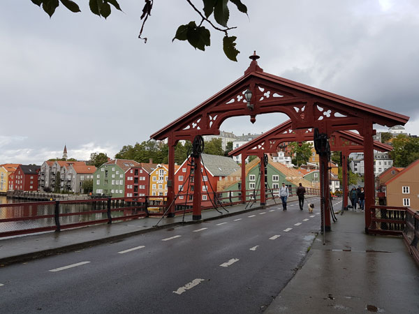 Trondheim alte Brücke
