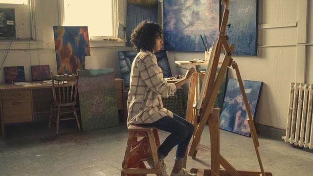 Foto als Gemälde