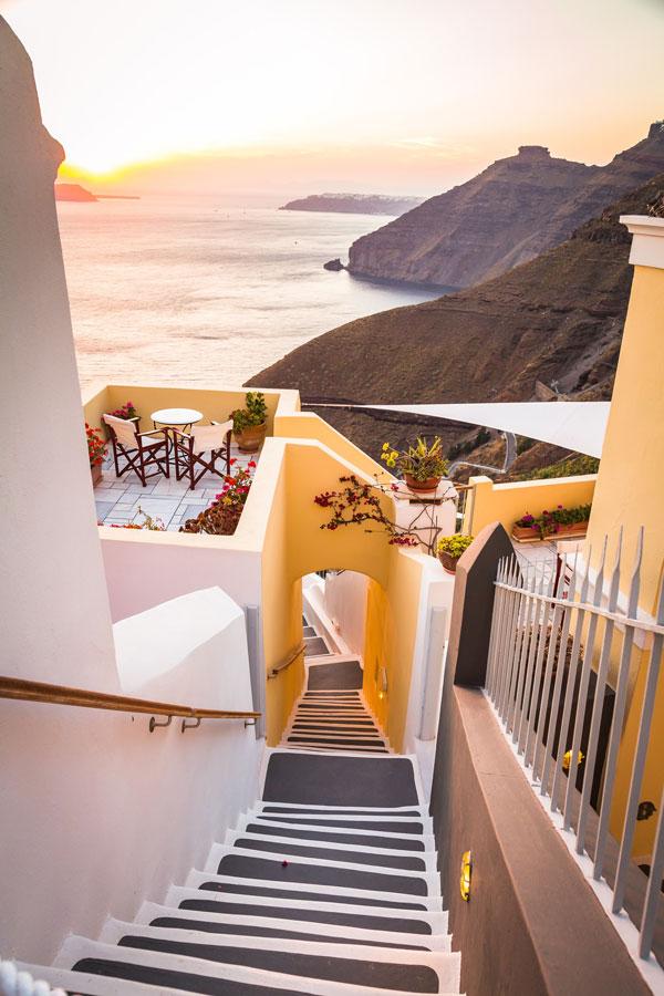 Leben genießen Griechenland
