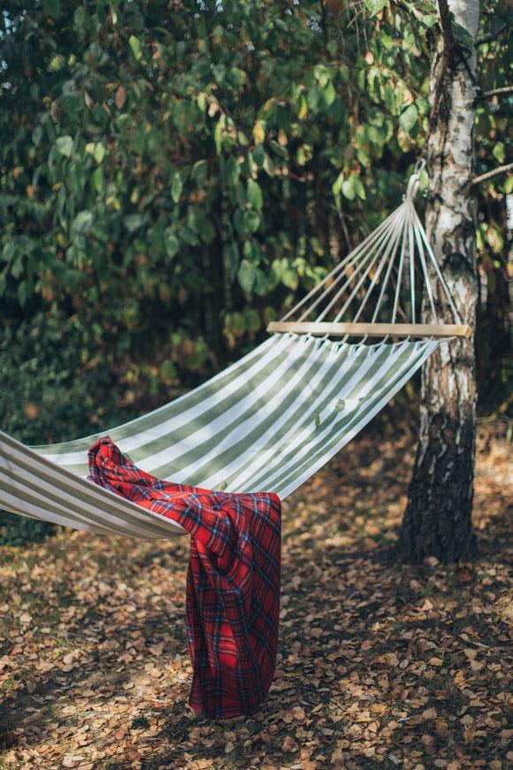 Entspannen Hängematte Garten