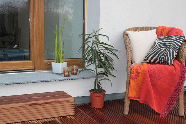 Möbel Terrasse gemütlich