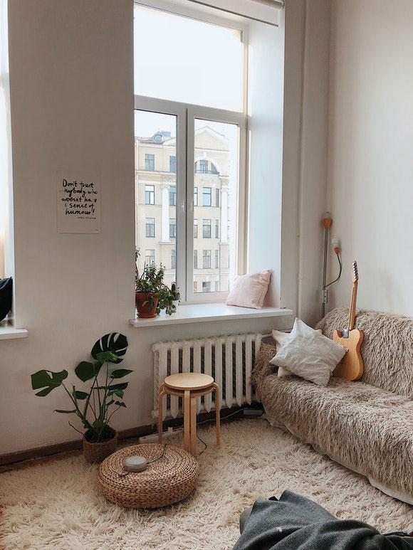 Wohnzimmer gemütliche Ecke