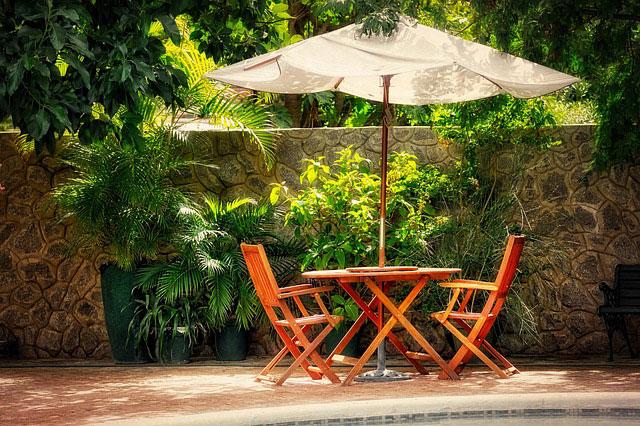 Garten fit für den Sommer