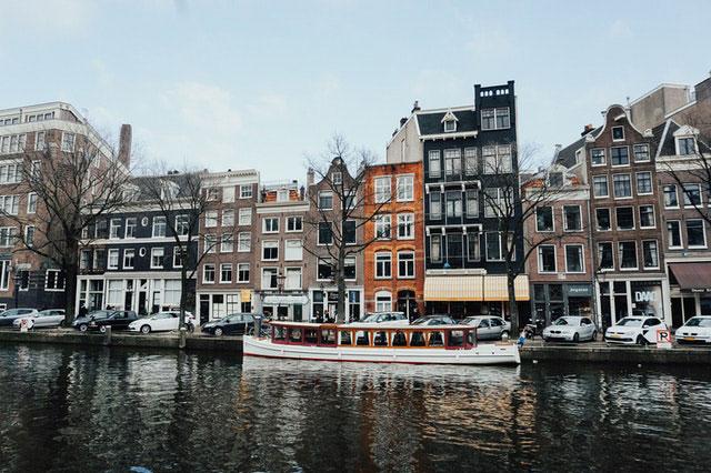 Niederlande Boot erkunden