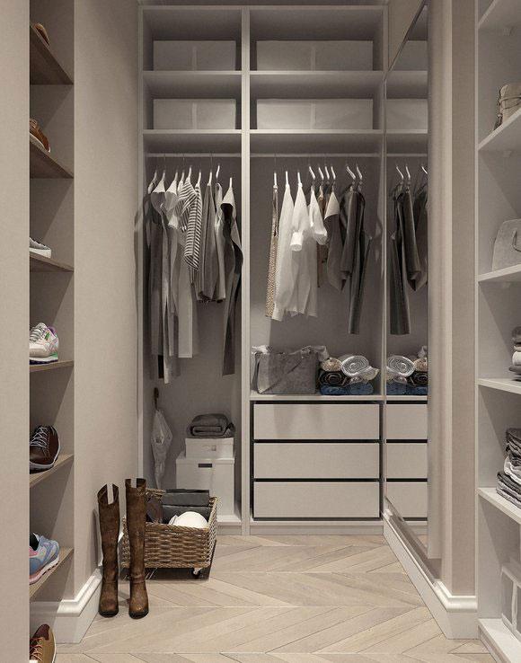 Wenig Kleidung nachhaltig