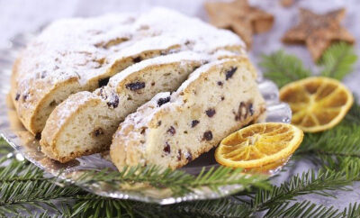 Backen im Advent Stollen