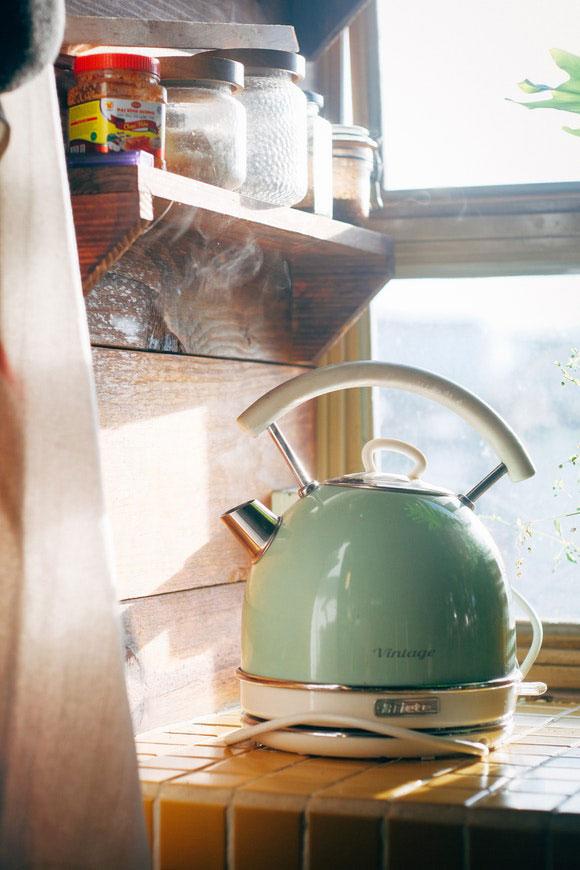 Knallige Farben Küche