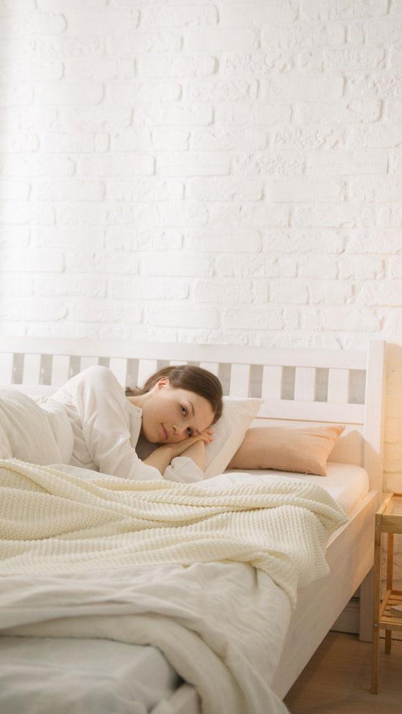 Gemütlich Bett nachhaltig bio