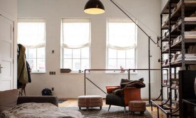 5 Ideen Loft Atmosphäre Wohnzimmer