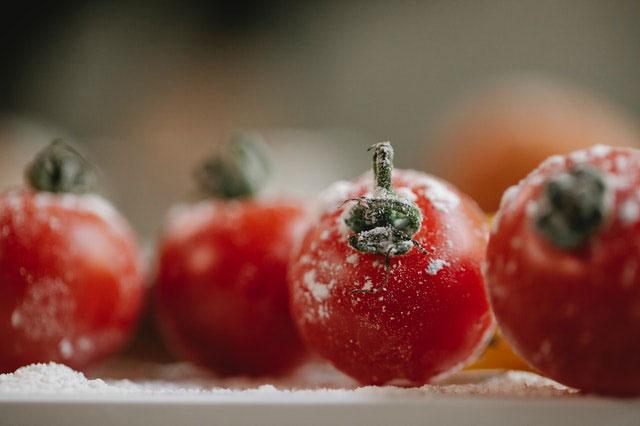 Gefrierschrank Eis Früchte