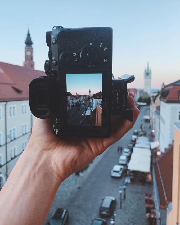 Perspektive ändern Fotos Urlaub