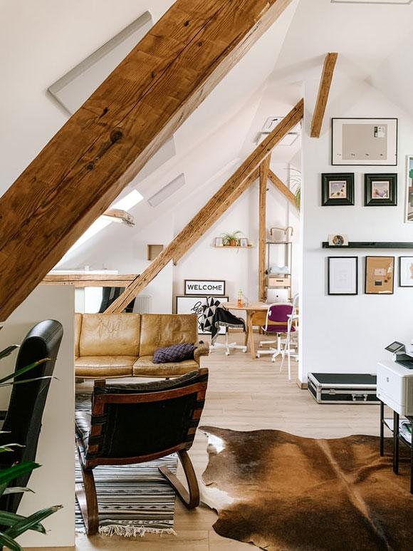 Wohnzimmer Loft-Style