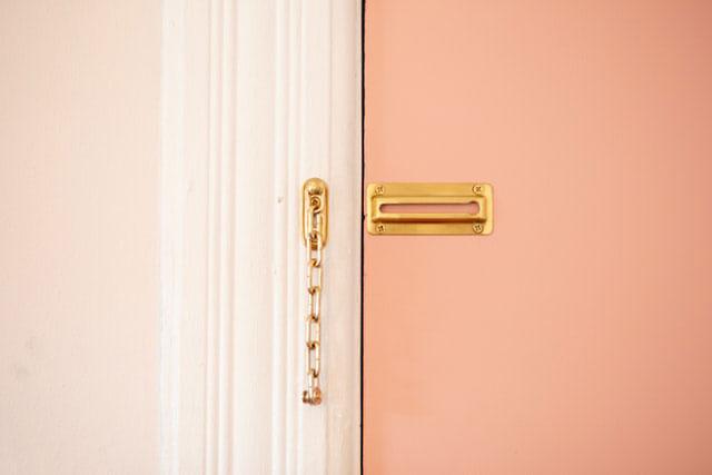 Kette Sicherheit Zuhause