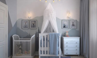 Kinderzimmer Skandi-Look einrichten
