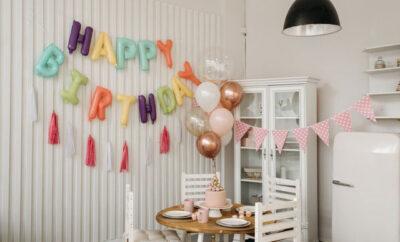 Kreative Ideen Geburtstagsfeier